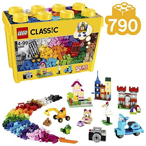 Lego 10698 - Classic Große Bausteine-Box (Sechs Jungen Jahre Für Geschenke Die Alten)
