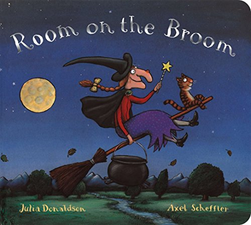 Room on the Broom Board Book (Halloween-spaß-lieder Für Kinder)
