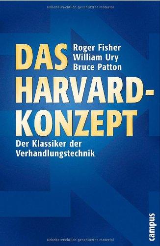Buchseite und Rezensionen zu 'Das Harvard-Konzept: Der Klassiker der Verhandlungstechnik' von Roger Fisher