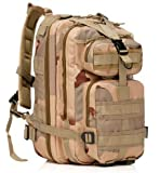 erolldeep Sport Outdoor Wasserdicht; angenehm Assault Pack Militärische Rucksäcke taktische Molle Rucksack Camping Wandern Trekking Klettern Tasche