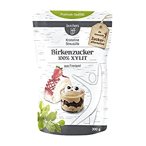 borchers Birkenzucker 100 % Xylit | Zuckeralternative | Zuckerersatz |...