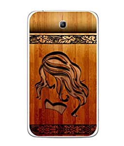 Fuson Designer Back Case Cover for Samsung Galaxy Tab 3 (8.0 Inches) T310 T311 T315 LTE (forever young caligraphy font art)