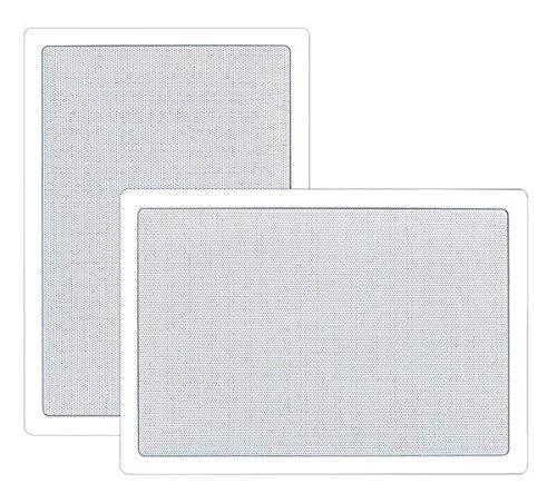 Pyle PDIW55 75W Blanco altavoz - Altavoces (2.0 canales, Alámbrico, Terminal, 75...