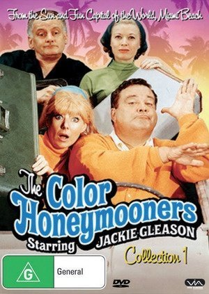 The Color Honeymooners - 3-DVD Set ( The Jackie Gleason Show ) ( The Color Honey mooners ) by Alan King