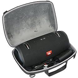 Étui de Voyage Rigide Housse Cas pour JBL Xtreme 2 Enceinte Bluetooth Portable Haut-Parleur par co2CREA(Noir)