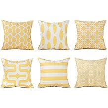 Cuscini gialli for Amazon cuscini arredo