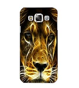 SAMSUNG GALAXY E5 LION Back Cover by PRINTSWAG