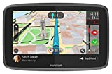 TomTom Car Sat Nav GO 6200, 6 Inch with Handsfree Calling, Siri, Google Now, Updates via WiFi, Lifetime Traffic via SIM Card and World Maps, Smartphone Messages, Capacitive Screen