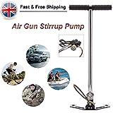 4500psi Air Pumpe 3Stage für PCP Air Gun Gewehr Füllung Steigbügel Ladekabel Schlauch Gas Filter