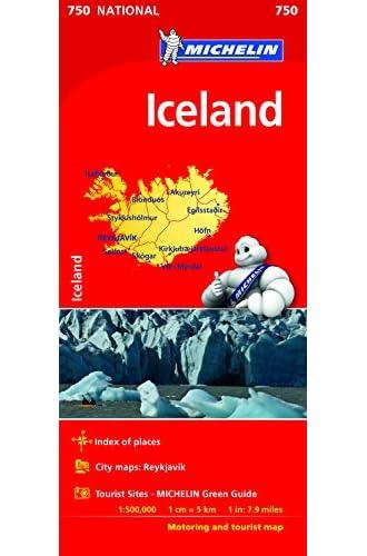 Mapa Iceland