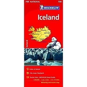 Mapa National Iceland (Mapas National Michelin)