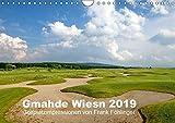 Gmahde Wiesn - Golfkalender 2019 (Wandkalender 2019 DIN A4 quer): Gmahde Wiesn - der Golfkalender 2015 von Golfsportfotograf Frank Föhlinger mit ... (Monatskalender, 14 Seiten ) (CALVENDO Sport)