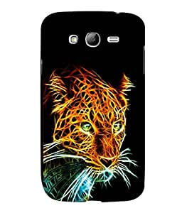 printtech Tiger Back Case Cover for Samsung Galaxy Grand i9080:::Samsung Galaxy Grand i9082