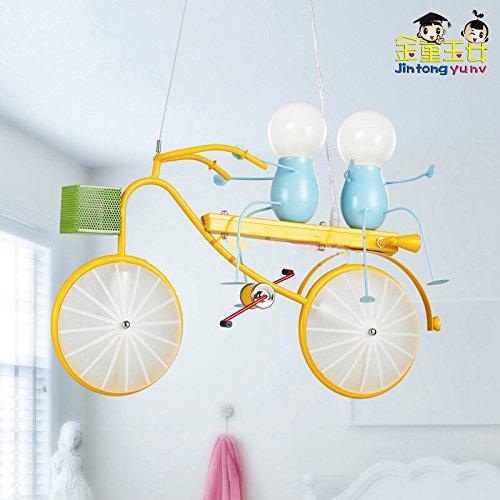 Plug-in Pendelleuchte-lampen (Self-My Deckenbeleuchtung Die Moderne Kind Zimmer Fahrrad Bügeleisen Jungen Einfache Kreative Schlafzimmer Studie Kronleuchter)