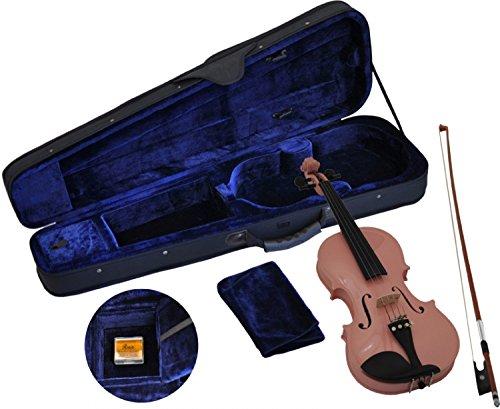 Steinbach 1/4 Geige im SET, pink, handgearbeitet