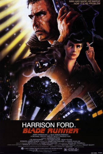 Close Up Blade Runner Poster (65,5cm x 98cm)