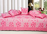 Optimistic Home Furnishing-PINK -8pcs-Diwan Set