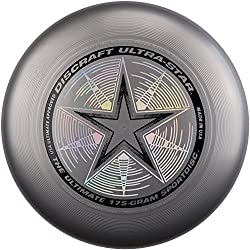 Discraft Ultrastar 175g Ultimate Frisbee Silver