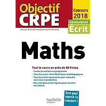 Objectif CRPE En Fiches Maths - 2018