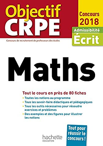 Objectif CRPE En Fiches Maths -