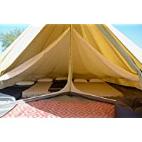 Life Under Canvas Oversized Inner for 5m Bell Tent 2 Room, With Divide, One Space or 2 rooms 25