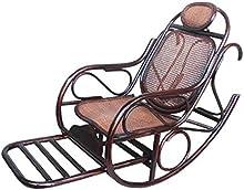 Natural bambú - rota mimbre de mecedora / silla / longue / relajarse silla / relax silla / asiento