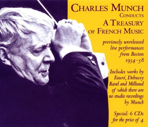 Preisvergleich Produktbild Charles Munch dirigiert französische Meister - Unveröffentlichte Konzertmitschnitte der Jahre 1954-1958