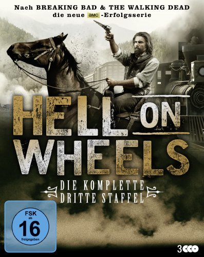Hell on Wheels – Die komplette dritte Staffel [Blu-ray]