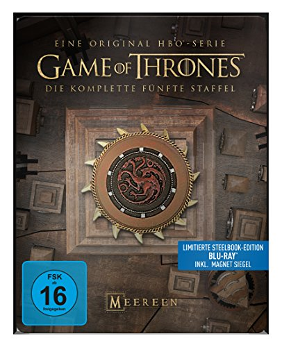game of thrones steelbook staffel 3 Game of Thrones - Staffel 5 - Steelbook [Blu-ray]