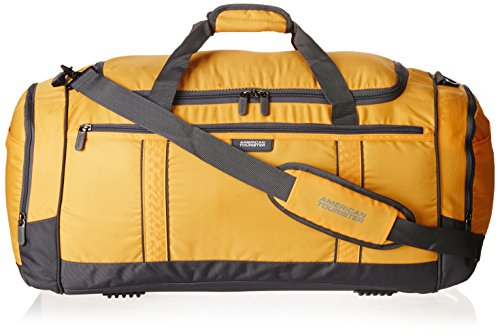 American Tourister X-Bags Travel 1 Fabric Mustard Gym Bag (X-Bags Travel 1_8901836102956)