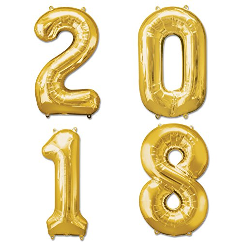 2018-New-Year-1016-cm100-cm-Gold-Folie-New-Years-Eve-Party-Number-Ballon