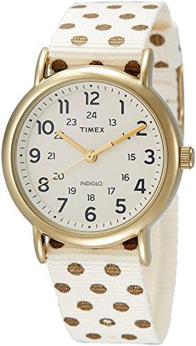 Timex Damen Armbanduhr Analog Quarz Nylon TW2P66100