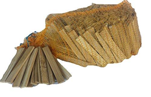 28 Kg Anfeuerholz von BlackSellig- jetzt auch im Raschelsack- perfekt trocken und sauber- versandkostenfrei !