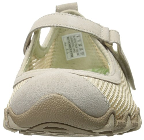 Skechers Bikers-herbe Jardin Mary Jane Flat Beig