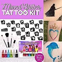Girls and Boys Glitter Tattoo Kit