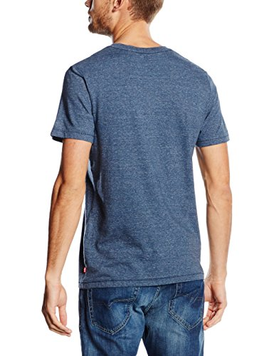 Levi's Herren T-Shirt Housemark Graphic Blau (Tri Dress Blues 31)