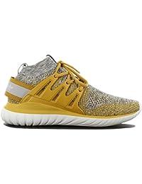 b2593ddd548e52 adidas Originals Tubular Nova PK Schuhe Grau-Gelb Sneaker Fashion Turnschuhe