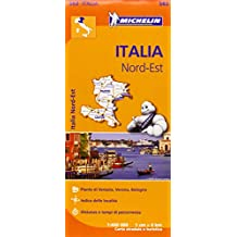 Italy North East Map (Michelin Regional Map)
