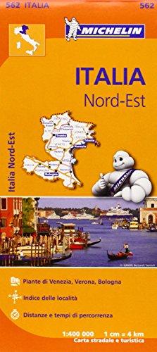 Mapa Regional Italia Nord Est (Carte regionali)