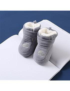 XIU*RONG Das Baby Winter Schuhe Sind Verdickte Und Warm Für 6-12 Monate Baby Schuhe Die 0-1 Jahr Alt Neugeborenes...