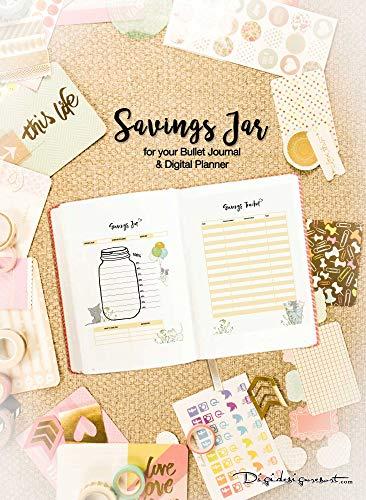 Printable Journal Savings Jar eBooks - A5 - A4 - US letter ...
