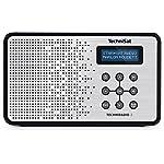 TechniSat Digital TechniRadio 2 (tragbar, DAB+/DAB, UKW-Empfang, Favoritenspeicher) schwarz/silber