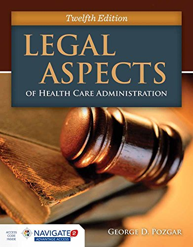 Read online legal aspects of health care administration by george elements of the legal aspects of healthcare administration health care administration george d pozgar legal aspects of health care administration fandeluxe Images