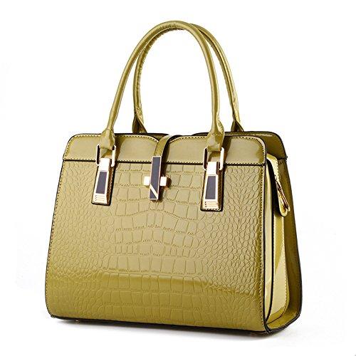 Ruiren Shopper Schulter Handtasche für Frauen, Paket Messenger Bag Damen Handtasche Grüne Frucht