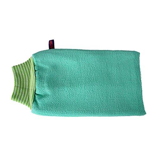 Serviette Exfoliant Retour laveur mousseux Éponge Bath Vert