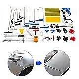 SHIOUCY Auto Carrosserie Outils de Réparation Kit, 104 pcs PDR Paintless...