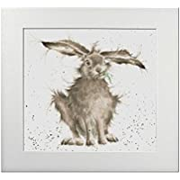 """Wrendale Designs Signed Print - Hare Picture """"Hare Brained"""""""