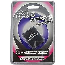 Carte memoire 64mb (1019 blocks, memoire non compressée) pour sauvegarde sur console Nintendo Gamecube
