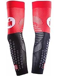 Compressport Manguitos Arm Force Ultralight Ironman 2017 Rojo/Negro - T4