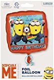 Anagram International HX Despicable Me Happy Birthday Party Luftballons, multicolor